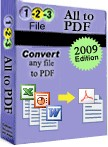 1-2-3 File Convert is a Word to PDF converter