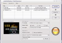 123 DVD Maker - Make video DVDs of your home movies