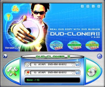 1st DVD Cloner --- Genuine clone DVD to DVD software