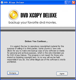 1st DVD XCopy Deluxe: copy your DVD movies without losing quality