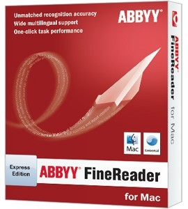 ABBYY FineReader Express Edition for Mac is an easy-to use yet powerful OCR application designed specifically for Macintosh computers