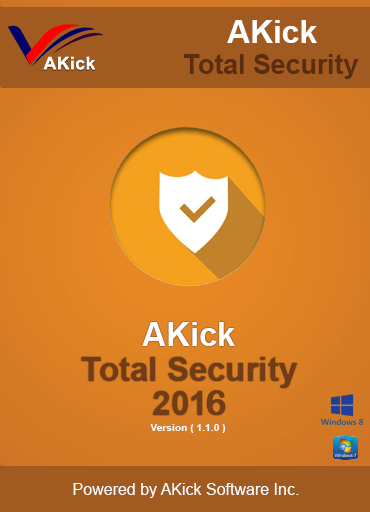 From Akick Software: Akick Free Antivirus 2016 provides the essential security you need to protect your computer from viruses, malware, and hackers