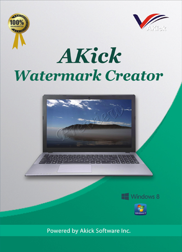 From Akick Watermark Creator: Are you looking for software that can help you out to create a unique logo, text for the copyright of your own