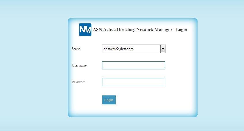 Web based application which helps Administrators to manage the computers in different Domains