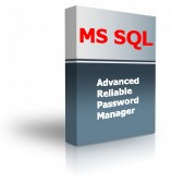 Advanced Reliable Password Manager for SQL Server allows secure storage of sensitive personal and corporate information in a Microsoft SQL Server database