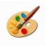 Designed for kids to paint, create and express themselves