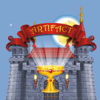 In this arcade game you must get a sacred artifact which was stolen and hidden in the highest tower of the castle