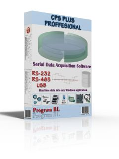 CPS Plus Professional data acquisition software enables serial devices like gps receivers, digital scales, magnetic stripe readers, digital sensors, laboratory instruments, microcontrolers, bar code scanners to communicate with any Windows application