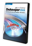Diskeeper 2008 Professional edition puts your system in the driver