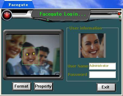 FaceGate is a software that you can log in windows by face recognition instead of password