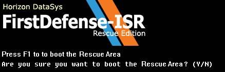 FirstDefense Rescue is an Instant PC Recovery solution that enables PC users to immediately restore their system in the event of a failed system or if critical software becomes corrupted