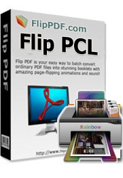 Flip PCL is a professional e-publishing software that allows you to create your own interactive e-publications from PCL (standard print format for HP LaserJet-compatible printers) with a few mouse clicks