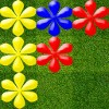 Flowers Popper for Android, its newest color-match, grid-based game, where players place a flower to form a row of three or more of the same color to remove them simultaneously