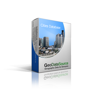 GeoDataSource Cities Database Premium Edition contains 2