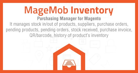 MageMob Inventory is the complete inventory management solution for Magento that's built to simplify and automate your supply chain