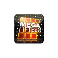 Mega Fifteen is a sliding square puzzle, a superset if the Fifteen Puzzle, One of the World's Best Known Puzzles