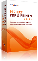Perfect PDF & Print 9: the all-in-one application for processing PDF documents