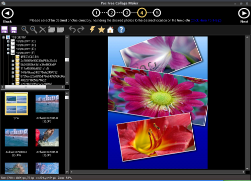 Pos Free Collage Maker is a free, user friendly tool for creating and editing stunning photo collages from the authors of Photo Pos Pro (free photo editor)