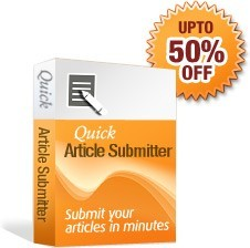 Quick Article Submitter is easy to use article submission software