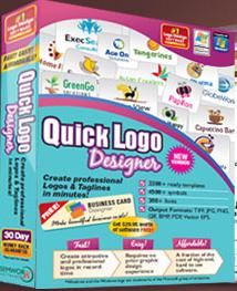 Give your logos a fantastic look with Quick Logo Designer Logo Creator Software 4