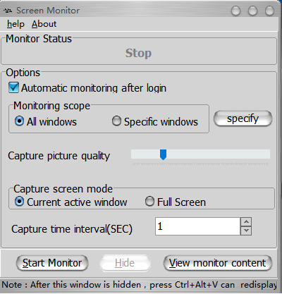What is Screen Monitor