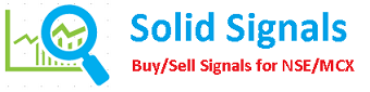 Solid Signals gives you signals during trading hours to buy/sell scrips or commodities with stop loss and target levels