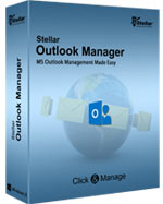 Stellar Outlook Manager is a professional tool, which allows you to easily work with Outlook PST files