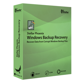 Stellar Phoenix Window Backup Recovery is a professional software to deal with corrupt or inaccessible BKF, ZIP and VHDX backup files created using Windows backup utilities
