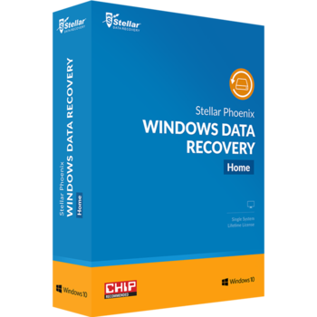 Stellar Phoenix Windows Data Recovery - Home is an advanced software for home or individual users that easily recovers your lost or deleted data from hard disks and external media devices