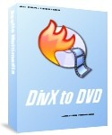 All DivX to DVD Creator transcodes and burns internet movie files into DVD disc