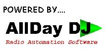 AllDay DJ is easy to use radio automation software