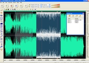 Audio Editor Studio is a visual multifunctional audio files editor,sound recorder for Windows