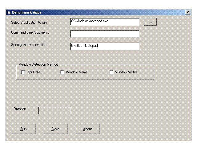 This application can be used to check the start up time for any application