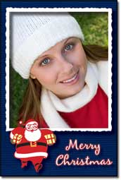 The Christmas and Holiday Card Frame Pack comes with the Framing Station digital photo software which to date has recieved the highest rating from 45 reviewers