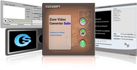 Cucusoft Zune Video Converter + DVD to Zune Converter Pro, All-in-One Suite