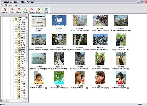 Easy Photo Editor is an easy-to-use image-editing program