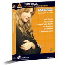 eConceal Pro for Windows is a powerful, highly advanced Network Firewall designed to protect your PC against attacks via the Internet or Local Area Network