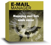 Emailsmartz Email List Manager is mailing list management software to collect unsubscribed user email ids, sort mailing lists, merge email lists, and remove duplicate email addresses