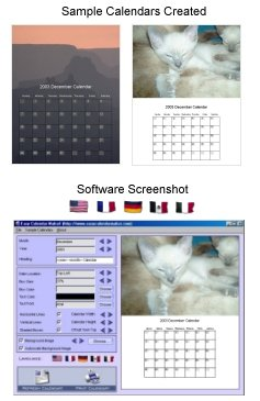 Now you can create high quality professional calendars just like the professionals