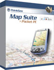 Map Suite Pocket PC is a powerful and easy to use