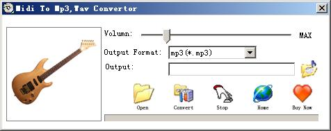 Midi To Wav Mp3 Convertor is an easy-to-use tool for converting MIDI files to wav,mp3 format with CD quality