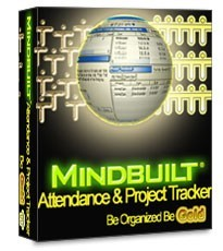 Mindbuilt Attendance & Project Tracker is full network capable, Time, Attendance and Project Management software
