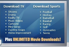 Unlimited Movie and TV Show Downloads