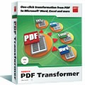 ABBYY PDF Transformer is a powerful but easy-to-use PDF conversion utility that transforms any types of PDF files into editable formats without retyping and reformatting
