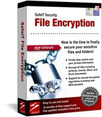 SafeIT File Encryption is a user-friendly program that allows you to prevent unauthorized access to restricted documents