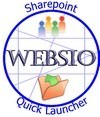 Websio Quick Launch is a simple and powerfull Web Part that allows you to start applications right from portal site