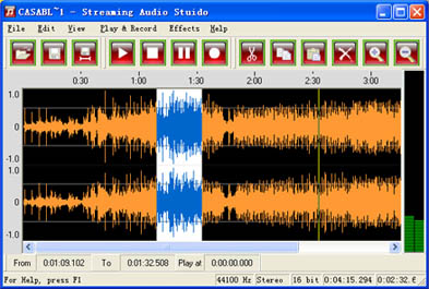 Streaming Audio Studio: All-In-One Sound Recorder, Editor and Converter
