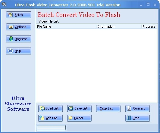 Support converting video to flash video flv file format, Control audio bitrate and sample rate for flash video flv file, Control video bitrate and video framerate for flash video flv file, Control the flash video flv file size you want to create, Supports batch converting, Convert avi to flash video flv directly, Convert asf to flash video flv directly , Convert wmv to flash video flv directly, Convert rm to flash video flv directly, Convert mpg to flash video flv directly , Convert rmvbi to flash video flv directly, Convert mov to flash video flv directly