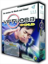 Download Virtuosa, the ultimate all-in-one music and movie software jukebox to rip, import, play, burn, mix, convert, organize, normalize, visualize, print and enjoy all standard audio files and to import, burn, view, organize and appreciate all standard video files on your computer (Data CD/DVD burning/importing, mp3 player, divx jukebox, wma converter, wav CD burner, mp2,