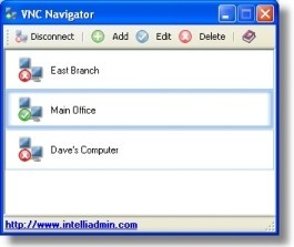 This program allows you to easily manage your VNC servers